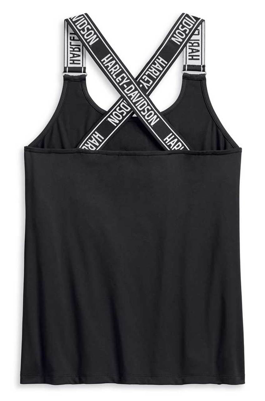 Tričko Harley-Davidson® Women's Performance Strappy Sleeveless Tank Top 96231-20VW