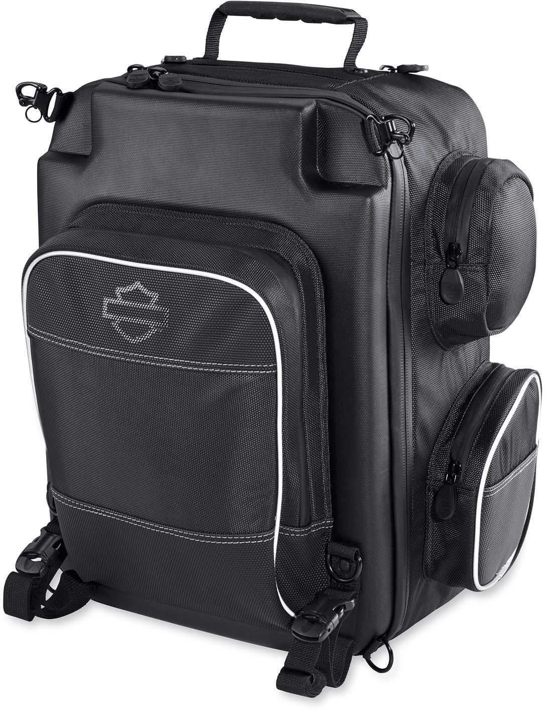 Harley-Davidson® Onyx Premium Luggage Weekender Bag, Universal Fit-Black 93300105