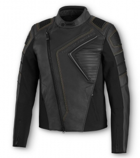 Motocyklová bunda Men's H-D® Moto Watt Leather Jacket 98002-20EM