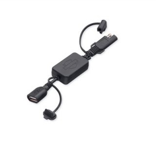 Harley-Davidson® SAE 2-Pin to USB Adapter
