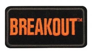 Harley-Davidson® Softail Breakout Embroidered Emblem, Small Patch