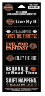Harley-Davidson® Ultra Mini Bumper Sticker