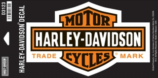 Harley-Davidson® Long B&S Medium Decal