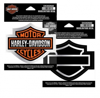 Harley-Davidson® Inside Out Decal Bar & Shield