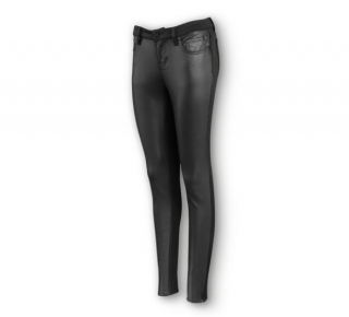 Women´s H-D® Moto Denim & Compression Knit Skinny Pants 96204-20VW