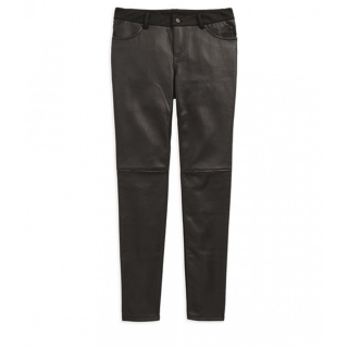 Women´s H-D® Moto Stretch Leather Skinny Pants 96609-19VW