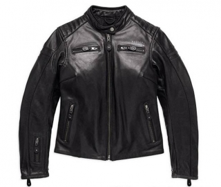 Motocyklová bunda Women´s H-D® Genuine Motorclothes #1 Skull Leather Jacket EC 98132-17EW