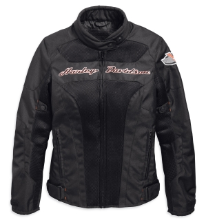 Motocyklová bunda Women´s H-D® Genuine Motorclothes Riding Jacket Mecan Springs Mesh 97158-19EW
