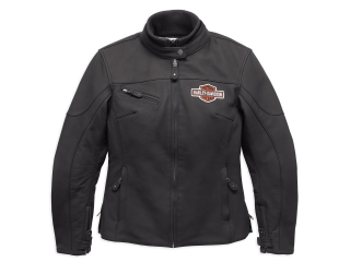 Motocyklová bunda Women´s H-D® Genuine Motorclothes Legend Leather Jacket EC 98131-17EW