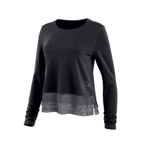 Tričko Women´s H-D® Moto Black Cordura® Jersey Knit Top 96353-19VW