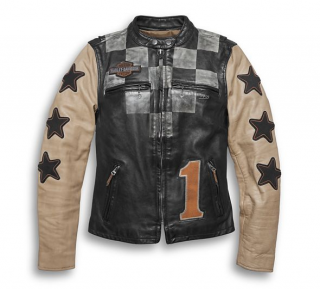 Dámska bunda Women´s H-D® 1903 Vintage Race-Inspired Leather Jacket 97003-20VW
