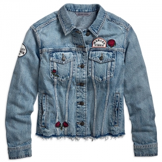 Bunda Women´s H-D® Garage Roam Free Women's Denim Jacket 96748-19VW