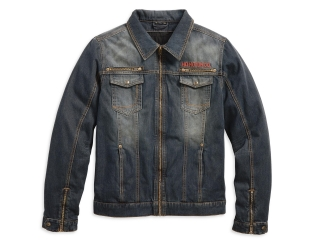 Motocyklová bunda Men's H-D® Genuine Motorclothes Dispatch Denim Riding Jacket 97221-18EM