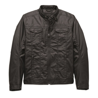 Motocyklová bunda Men's H-D® Moto Wrayburn Riding Jacket 97134-19EM