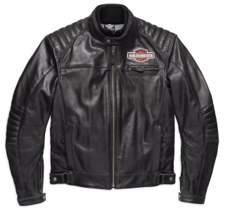 Motocyklová bunda Men's H-D® Genuine Motorclothes Legend Leather Jacket EC 98125-17EM