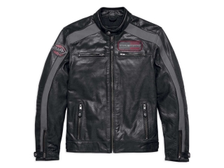 "Motocyklová bunda Men's H-D® Genuine Motorclothes Leather Jacket ""Clarno"" 97011-18EM"