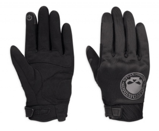 Rukavice Men's H-D® Genuine Motorclothes Skull Soft Shell Gloves EC 98364-17EM