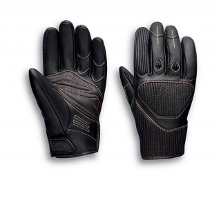 Rukavice Men's H-D® Moto Watt Leather Gloves 98121-20EM