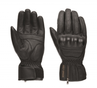 Rukavice Men's H-D® Genuine Motorclothes Blackout Gloves CE 98179-18EM