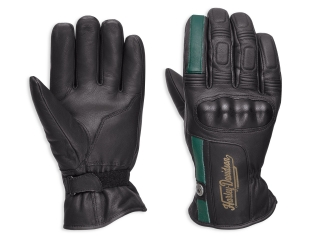 Rukavice Men's H-D® Genuine Motorclothes Throwback Water-Resistant Leather Gloves 97364-18EM