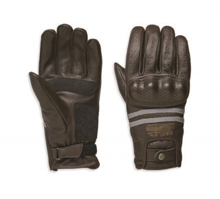 Rukavice Men's H-D® Genuine Motorclothes Gloves Freemont EC brown 98274-19EM