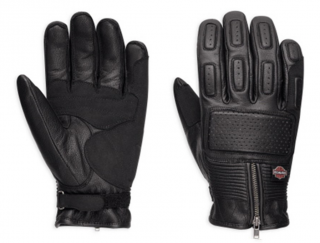 Rukavice Men's H-D® Genuine Motorclothes Gloves Miller EC 98357-17EM