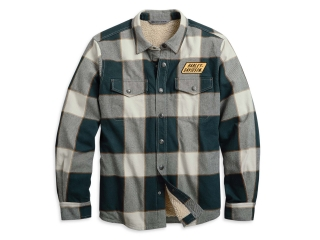 Pánska bunda Men's H-D® Garage Sherpa Lined Shirt Jacket 96008-20VM