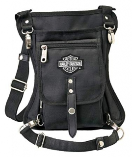 Taška Harley-Davidson® Side Slinger 2-IN-1 Shoulder Bag/Leg Holster - Black 98223