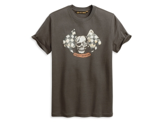 Tričko Men's H-D® 1903 T-Shirt Skull Racing 96033-20VM