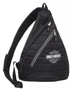 Batoh Harley-Davidson® Bar & Shield Quilted Travel Large Sling Backpack 90820 Silver