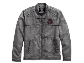 Pánska bunda Men's H-D® Genuine Motorclothes GMHR Washed Down Lightweight Jacket Obsolete 97460-18VM