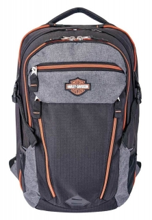 Batoh Harley-Davidson® Bar & Shield Road Runner Backpack - Gray w/ Rust Trim 99119