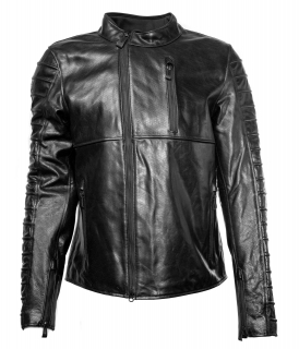 Motocyklová bunda Harley-Davidson® Mens Ozello Perforated Slim Fit Leather Jacket, Black 98006-20EM