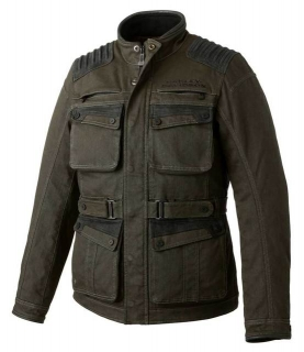 Motocyklová bunda Harley-Davidson® Men's Trego Stretch Slim Fit Riding Jacket, Green 98166-20EM