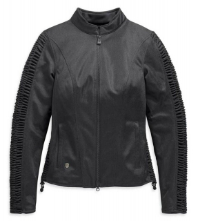 Motocyklová bunda Harley-Davidson® Women's Ozello Mesh Riding Functional Jacket - Black 98164-20EW