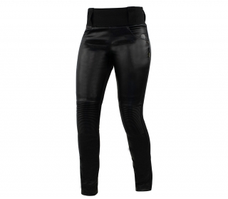 Trilobite 2061 Leather leggings ladies pants black