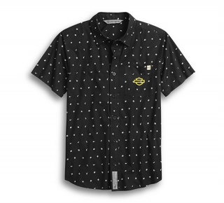 Košeľa Men's H-D® Moto Allover Print Shirt 96243-20VH