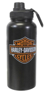 Harley-Davidson® Bar & Shield Stainless Steel Thermos Water Bottle HDX-98621