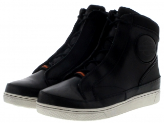 Harley-Davidson® VARDON CE Black waterproof men's high top sneaker - black D97094