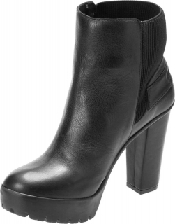Women's Iredell 4-Inch High Heel Black Booties D84495