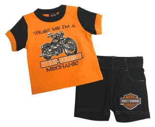 Baby Boys' 2 Piece Infant Graphic Tee & Shorts Set