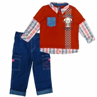 Toddler Boy Denim Outfit