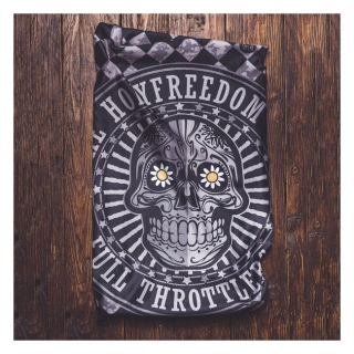 Holy Freedom Irongun skull Stretch tunnel