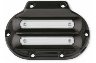 Dominion Transmission Side Cover - Gloss Black with Highlighted Slots