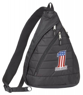 Batoh Harley-Davidson® Number 1 Quilted Travel Large Sling Backpack 90820-WILLIEG