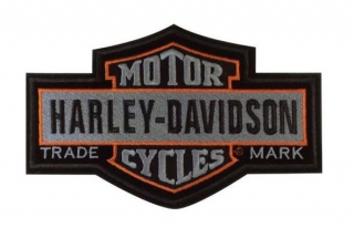 Harley-Davidson® Nostalgic Bar & Shield Patch LG 7 1/4'' x 4 5/8'' EM313754
