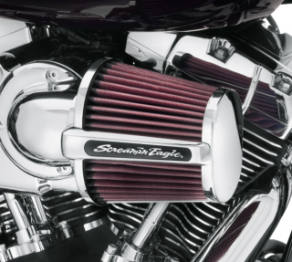 Harley-Davidson® Screamin' Eagle Heavy Breather Elite Performance Air Cleaner Kit 29400173