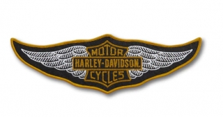Harley-Davidson® 30's Wing Large Iron-On Patch 97647-21VX