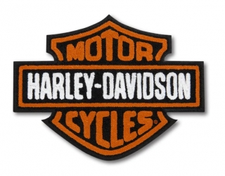 Harley-Davidson® Vintage Logo Iron-On Patch 97651-21VX