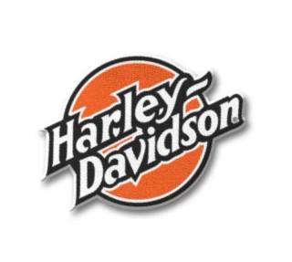 Harley-Davidson® 80's Tank Patch Iron-On Patch 97658-21VX
